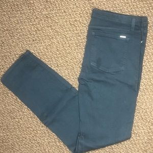 2/$40 Fidelity High Rise Skinny in Emerald
